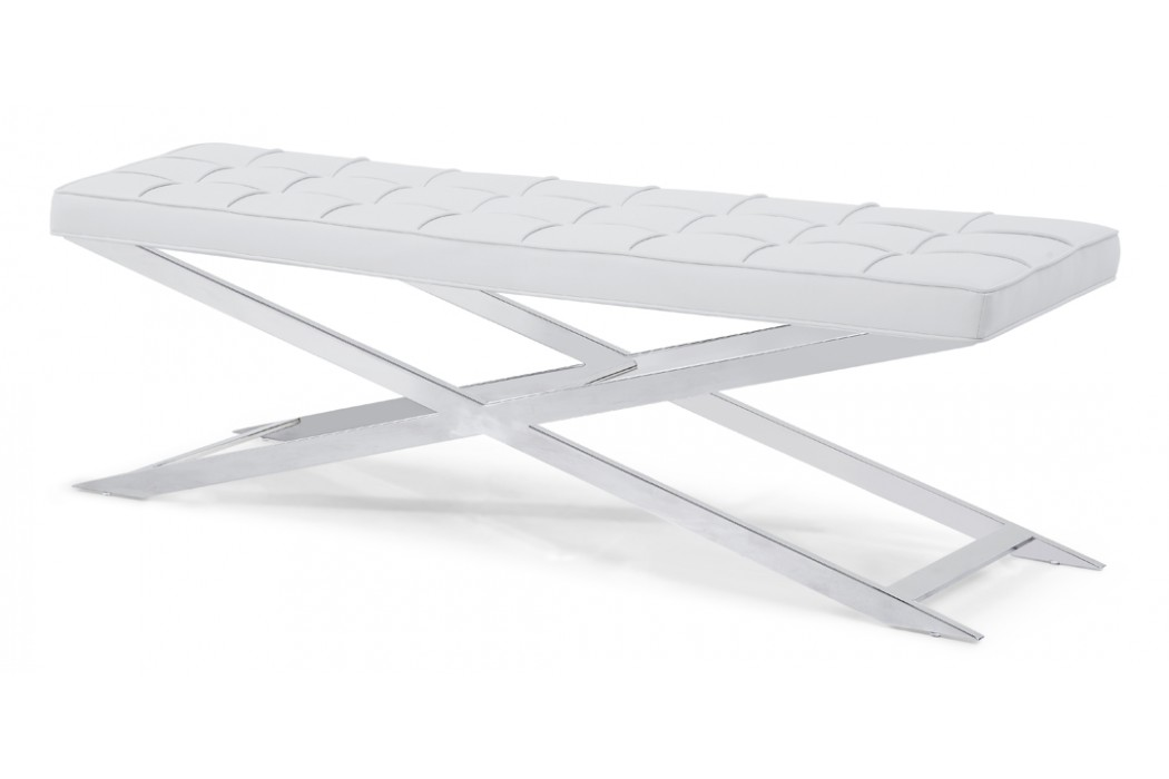 Polizi Bench in White