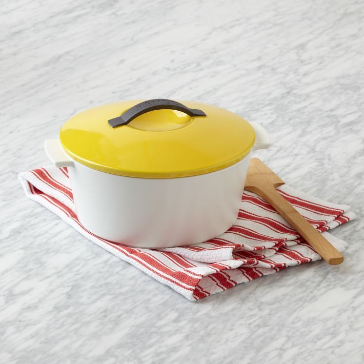 Porcelain cookware from West Elm