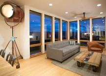 Prefab Home - Chris Pardo - Living room