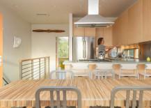 Prefab home - cool mdern kitchen
