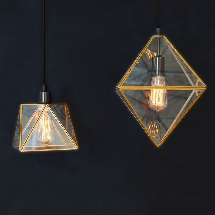 Prism Pendants from West Elm
