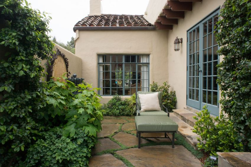 Relaxing patio sanctuary