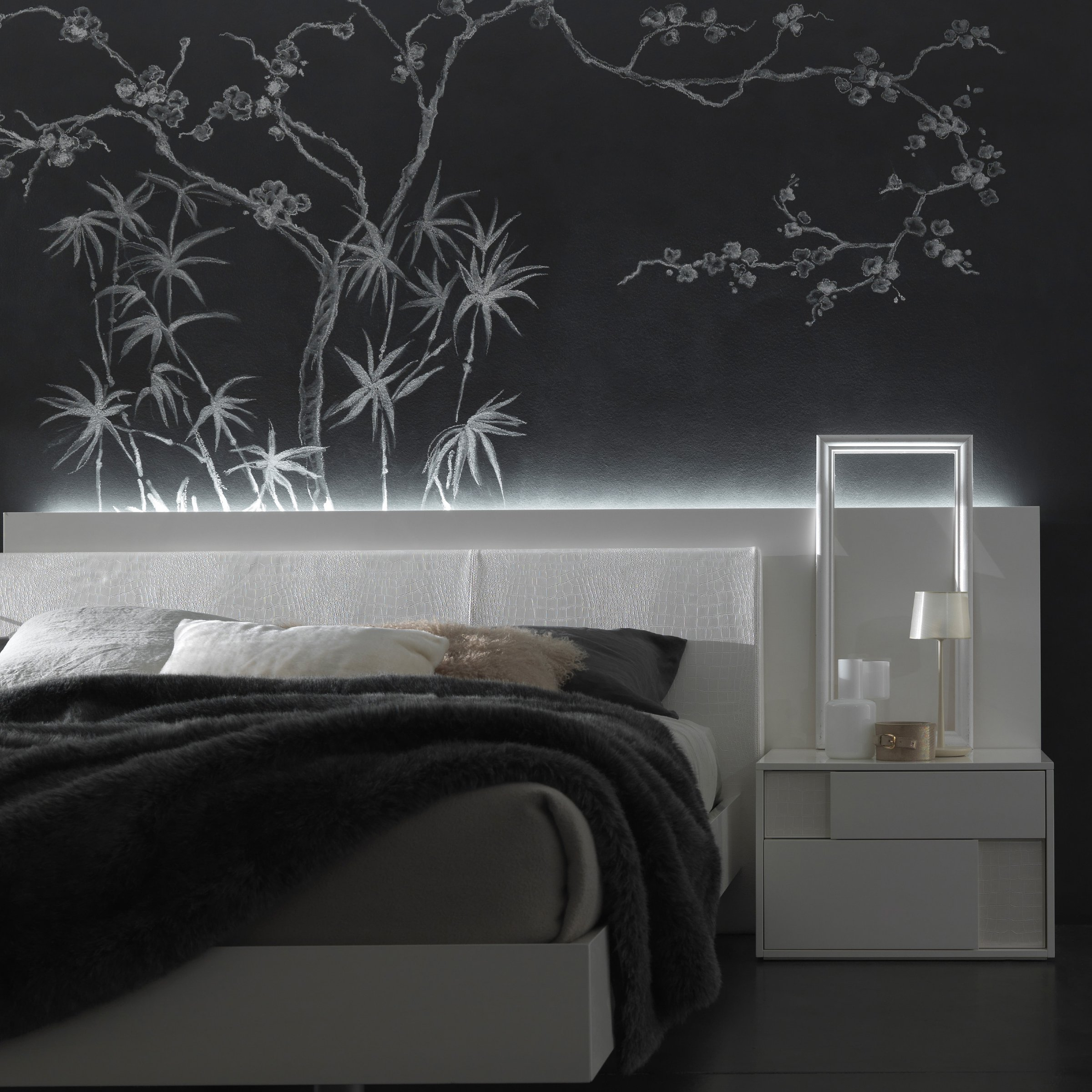Rossetto Nightfly Bed Stand