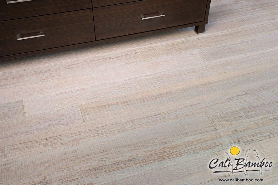 Rustic bamboo flooring from Cali Bamboo