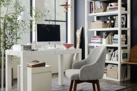 8 Chic Office Chairs That Will Sweep You off Your Seat