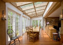 Skylights can transform old structures into breezy, modern homes