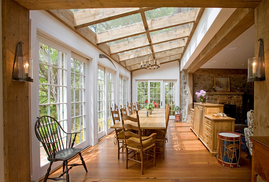 Skylights can transform old structures into breezy, modern homes [Design: Worthington Custom Builder]