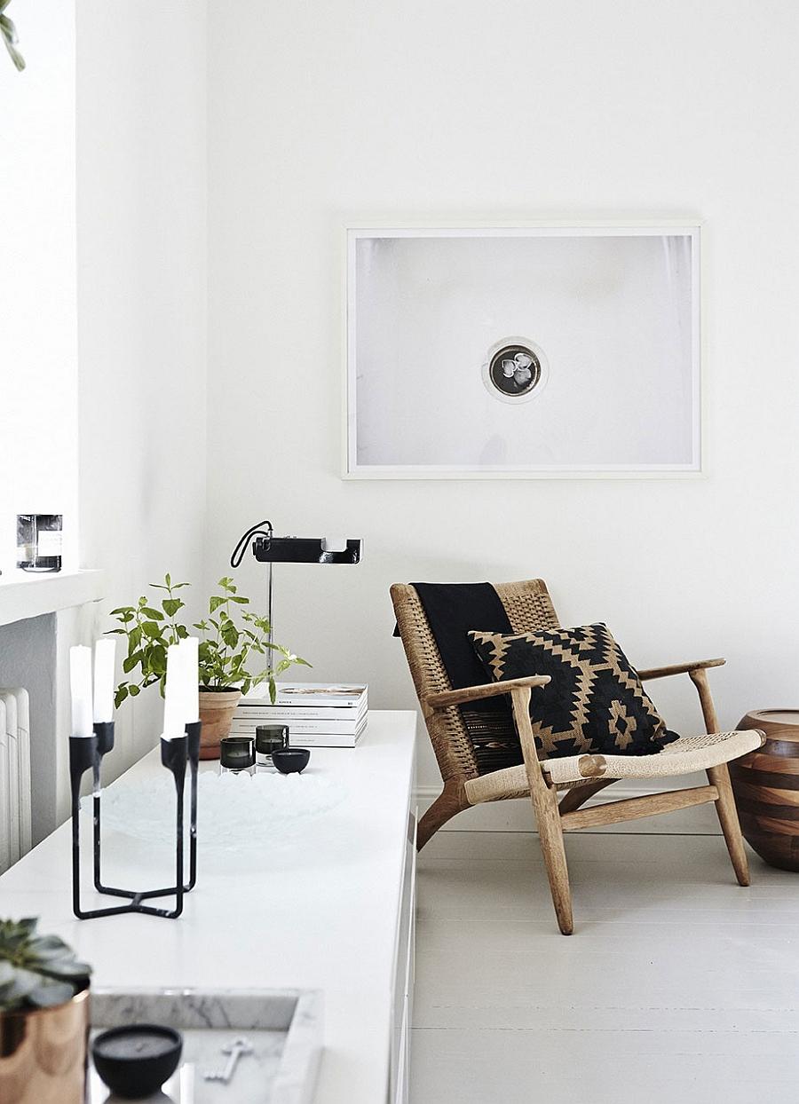 Sleek decor combine Scandinavian style with modern aesthetics