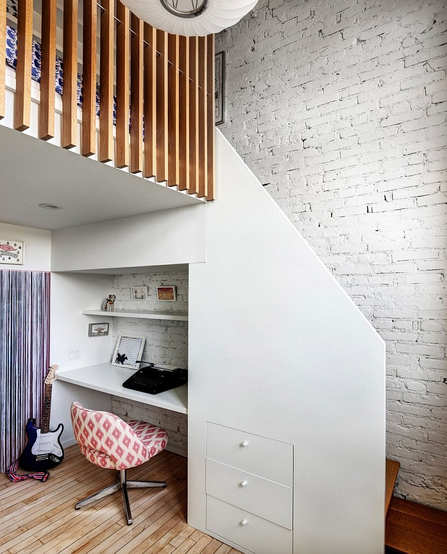 A Japanese Inspired Apartment With Plenty Storage Systems: Chic Brooklyn Apartment By Chris Cooper And Jennifer Hanlin