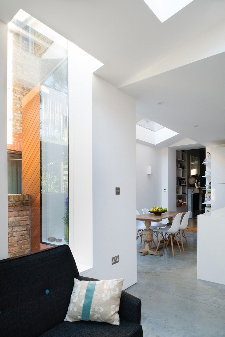 Smart extension makes room for a larger, brighter kitchen