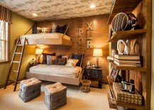 20 Rustic Kids' Bedrooms with Creative, Cozy Elegance