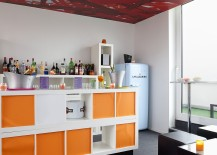Splash of orange and red add elegance to your stay at the Hotel!