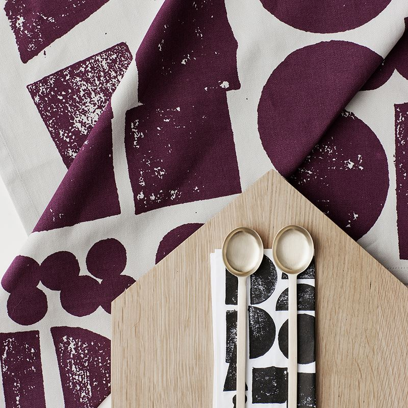 Stamp Tea Towels from Ferm Living