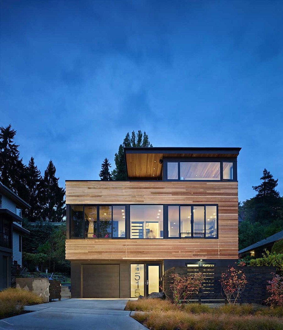 Modern House Exterior Materials: Contemporary Cycle House By Chadbourne + Doss Architects