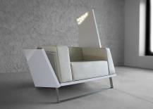 Stunning Boxetti sofa in chic white