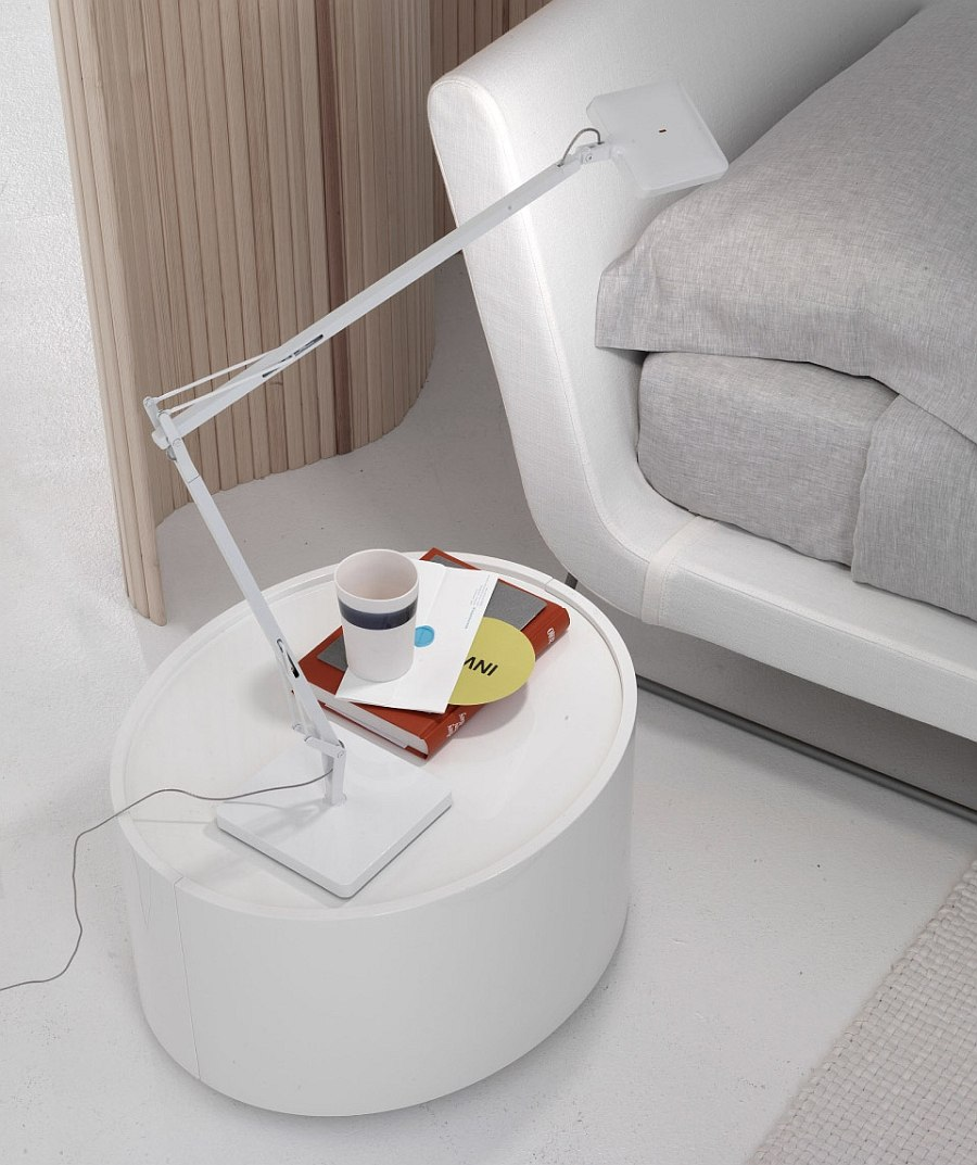 Stylish Andy bedside storage unit for the low slung bed