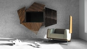 Stylish Boxetti wall TV stand steals the show in any room it adorns