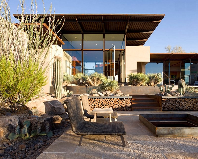 Take the firewood outdoors in the warmer months [Design: The Construction Zone]