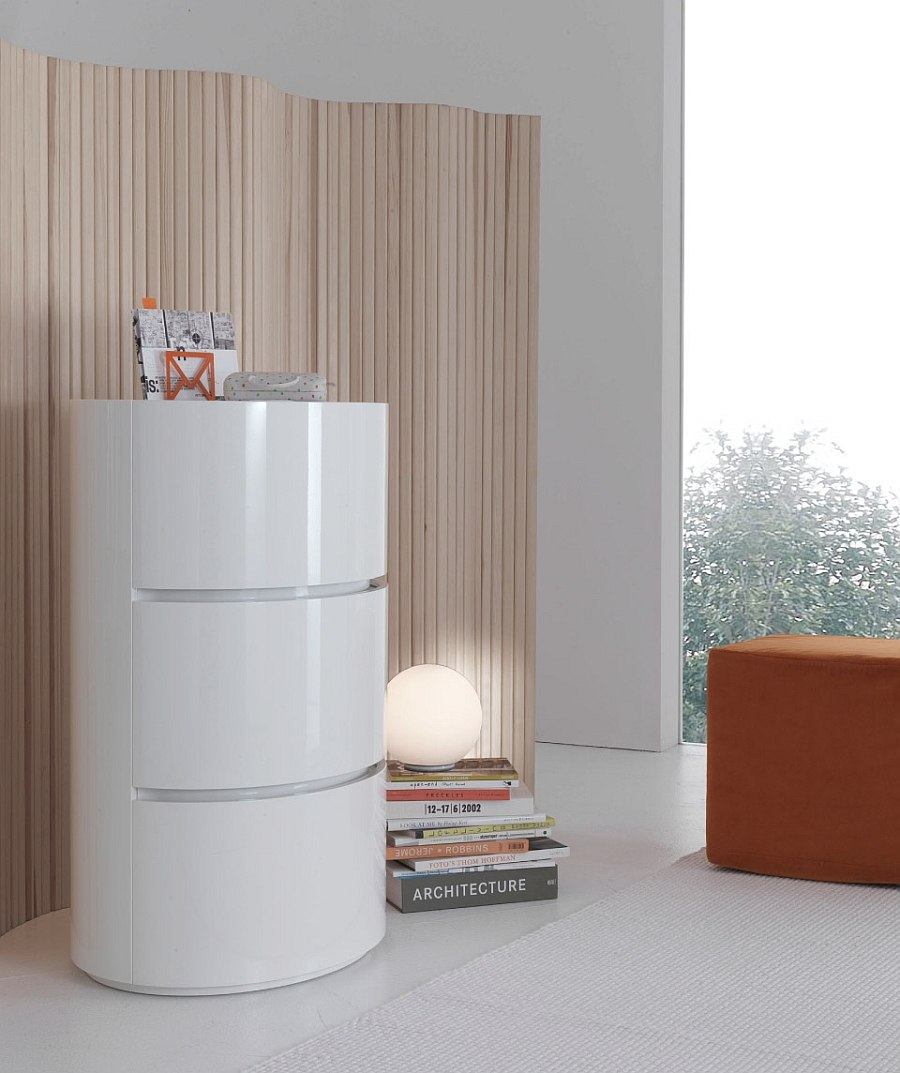 Taller Andy units can be used as standalone pieces for additional storage