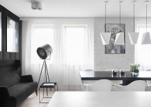 Tripod-floor-lamp-gives-the-apartment-a-stylish-trendy-appeal-217x155