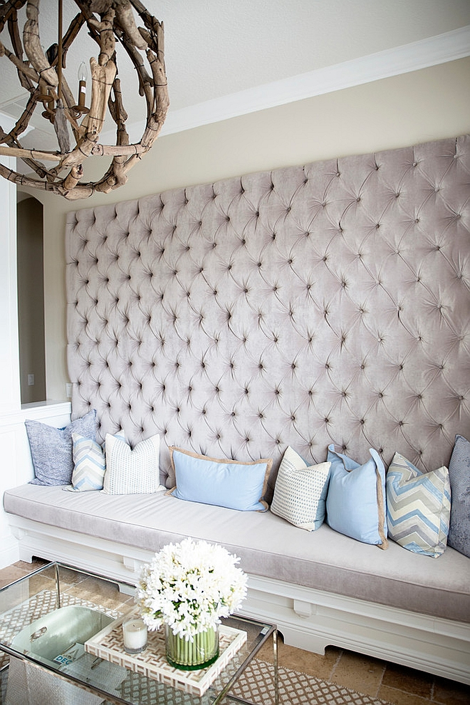 how to make tufted wall panels