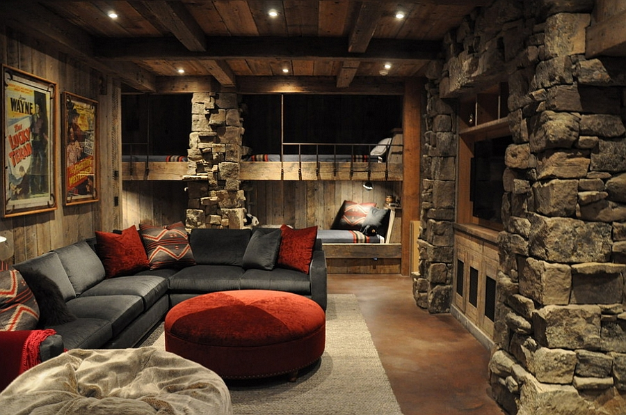 Rustic kids bedrooms 20 creative cozy design ideas for Cabin bedroom designs