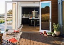 Wooden decked terrace - Breezehouse