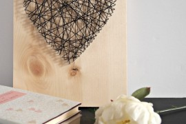 DIY Heart String Art That's Not Cheesy!