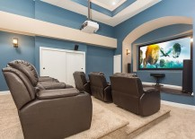 Add some color to your gorgeous home theater