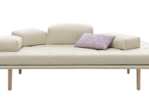 Adjustable White Sofa