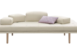 Adjustable White Sofa  8 Dreamy Daybeds That Do Double Duty as Seating Adjustable White Sofa 270x180