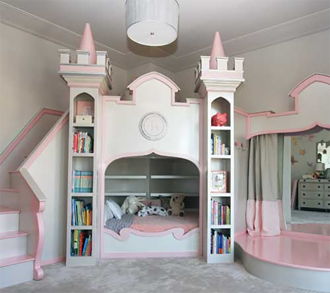Ballerina Bed with Stage