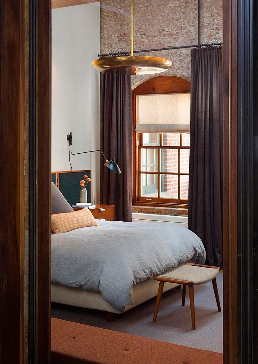Bedside lighting that saves up on space