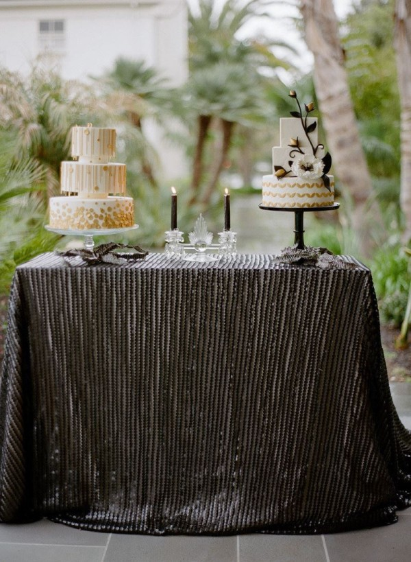 Black And White Striped Tablecloth From Linen Thread Decoist