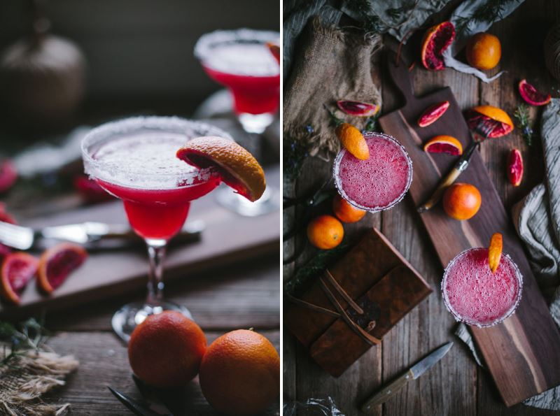 Blood orange margaritas from Design Love Fest