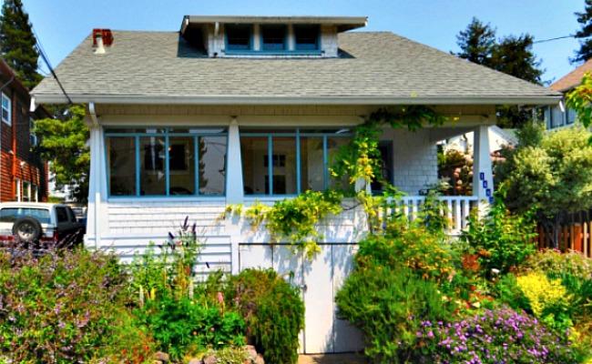 Josephine Street cottage exterior