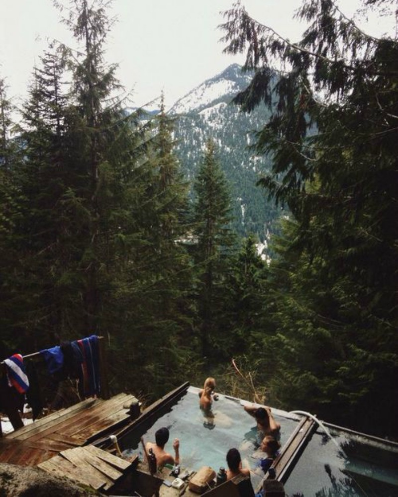 Boho Hot Tub with a view