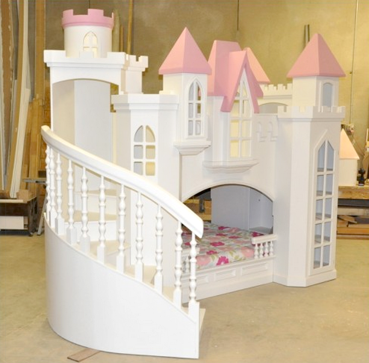 Braun Fairy Tale Bed