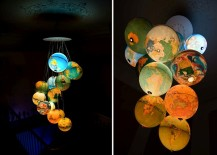 Brilliant globe pendants that steal the show 217x155 12 Unique Ways to Decorate with Globes