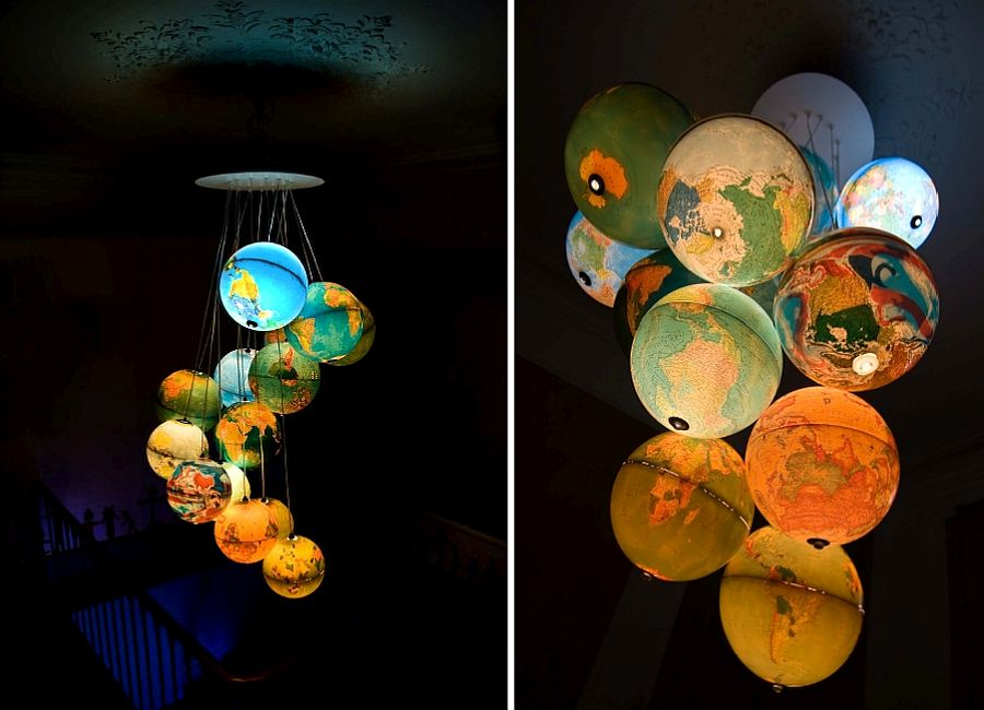Brilliant globe pendants that steal the show [Design: Benoit Vieubled]