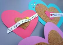 Colorful DIY Cork Valentines
