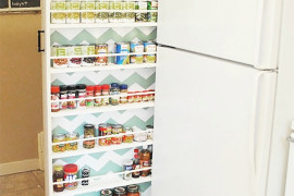 Canned Food Cabinet DIY  8 Pretty Pantry Door Ideas That Showcase Your Storeroom as a Star Canned Food Cabinet DIY 270x180