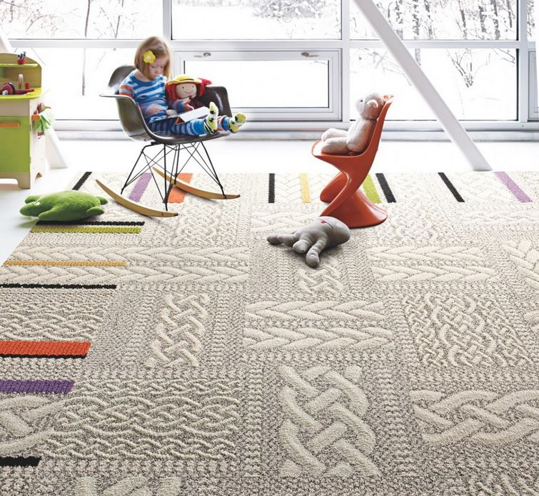 Carpet tiles from Flor