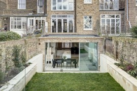 Classic Victorian Townhouse with a contemporary extension in London