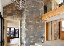Contemporary style meets cabin charm inside the Colorado home 217x155 Modern Colorado Vacation Home with Enthralling Mountain Views