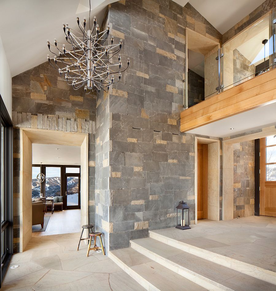 Contemporary style meets cabin charm inside the Colorado home