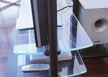Cool Ubiqua TV Stand has a minimal, modern vibe
