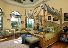 Custom-tortoise-shell-bamboo-bed-in-the-tropical-bedroom-217x155