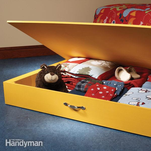 DIY Handman Underbed Toy Storage