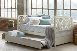 Daybed with Optional Trundle  8 Dreamy Daybeds That Do Double Duty as Seating Daybed with Optional Trundle 270x180
